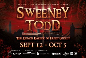 """​Sweeney Todd"" Kicks off Garden Theatre Season, Starting September 12th"