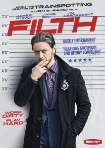 "Win a DVD of ""Filth"" Starring James McAvoy [ENDED]"