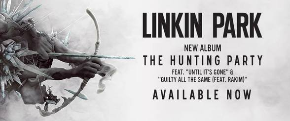 "Linkin Park's Chester Bennington & Mike Shinoda talk about new album ""The Hunting Party"""