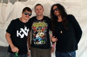 "Korn's Ray Luzier and James ""Munky"" Shaffer talk about touring with the Rockstar Energy Drink Mayhem Festival"