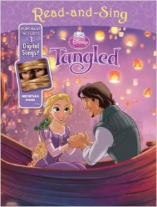 "Book Reviews ""Disney Princess Read-and-Sing: ""Sleeping Beauty & Tangled"""