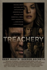 "Michael Biehn Takes on Different Kind of Role in This Latest Dark Thriller, ""Treachery"", to Be Released on VOD September 1st."