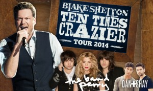 "Concert Review: Blake Shelton ""Ten Times Crazier Tour 2014"""