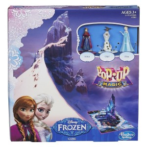 "Product Review ""Disney Pop-Up Magic Frozen Game"""