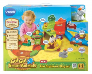 "Product Review ""VTech Go! Go! Smart Animals Zoo Explorers Playset"""