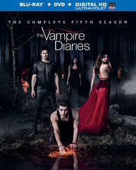 "Blu-ray Review ""The Vampire Diaries: The Complete Fifth Season"""