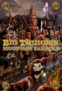 "Marvel and Disney Kingdoms Take You for a Ride with ""Big Thunder Mountain Railroad""!"