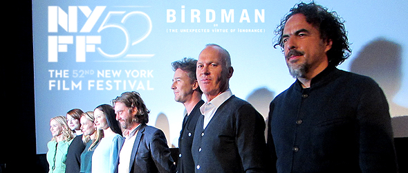 "New York Film Fest ""Birdman"" Press Conference"