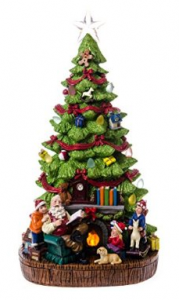 "Product Review ""Cracker Barrel: LED Christmas Tree with Music"""