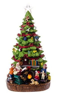 Product review cracker barrel led christmas tree with for Is cracker barrel open on christmas day