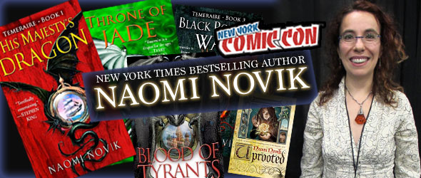 "Author Naomi Novik Talks ""Temeraire"" at NYCC"