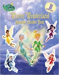 "Book Review ""Disney Fairies: Winter Wonderland Reusable Sticker Book"""