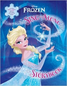 "Book Review ""Frozen Sing-Along Storybook"""