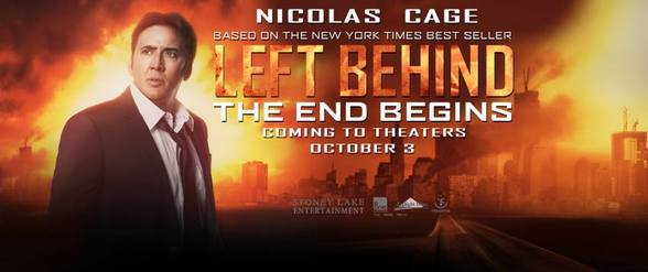 "Academy Award-winner, Nicolas Cage talks about his role in ""Left Behind"""