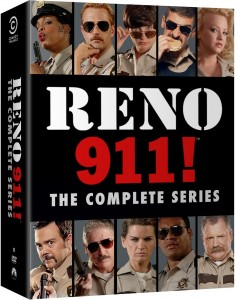 "Ten-Four! ""Reno 911!"" Complete Uncensored Series Releases on DVD on November 4th"