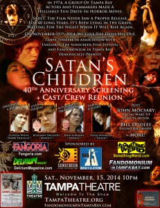 "Win Passes to 40th Anniversary Screening of ""Satan's Children"" in Tampa [ENDED]"