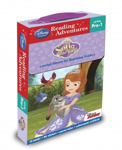 "Book Review ""Disney Learning: Reading Adventures – Sofia the First – Level Pre-1 Boxed Set"""