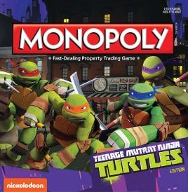 "Board Game Review ""Monopoly: Teenage Mutant Ninja Turtles Edition"""