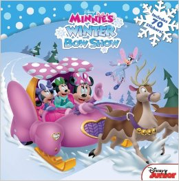 "Book Review ""Disney Minnie: Minnie's Winter Bow Show"""