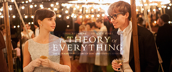 "Eddie Redmayne, Felicity Jones and filmmakers discuss ""The Theory Of Everything"""