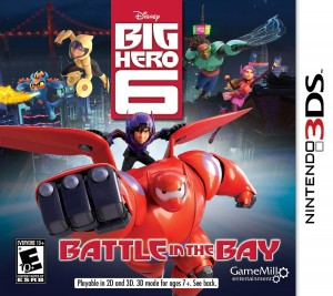 "Nintendo 3DS Video Game Review ""Big Hero 6: Battle in the Bay"""