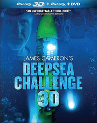 "3D Blu-ray Review ""James Cameron's Deepsea Challenge 3D"""