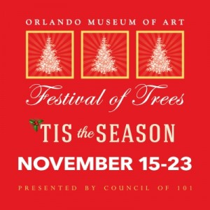 "Event Review ""Festival of Trees: Tis the Season"" Orlando Museum of Art"