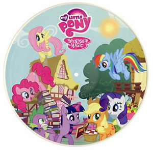 "Vinyl LP Review ""My Little Pony: Friendship Is Magic – Princess Celestia"""