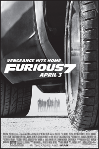 FURIOUS 7 artwork