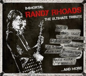 "CD Review ""Immortal Randy Rhoads- The Ultimate Tribute"""