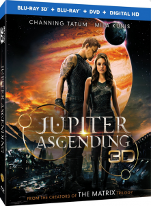 "Explore the Universe When ""Jupiter Ascending"" Arrives onto Blu-ray 3D Combo Pack, Blu-ray Combo Pack, DVD and Digital HD on June 2 from Warner Bros. Home Entertainment"