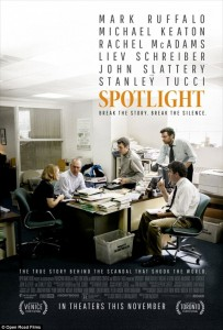 "Win Tickets to Attend the Kansas City Premiere of ""Spotlight"""