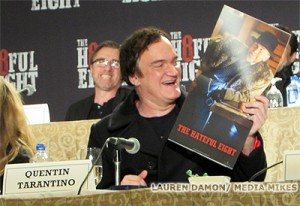 "A ""Hateful"" Conference with Quentin Tarantino, Kurt Russell, Jennifer Jason Leigh and More"