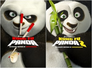 "DVD Reviews ""Kung Fu Panda 1 & 2: Ultimate Edition of Awesomeness"""