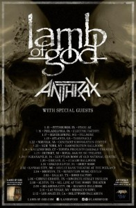Lamb of God/Anthrax- Philadelphia, PA Concert Review
