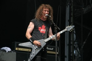 "Anvil's Steve ""Lips"" Kudlow talks about the album ""Anvil is Anvil"""