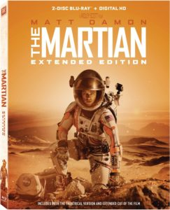 "Blu-ray Review ""The Martian: Extended Edition"""