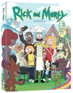 "Blu-ray Review ""Rick and Morty: The Complete Second Season"""
