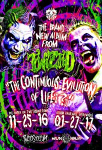 "Chart-Topping Rap Duo TWIZTID to Drop New Full-Length Album ""The Continuous Evilution Of Life's ?'s"" on January 27, 2017"