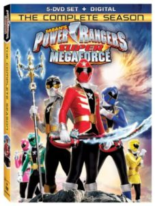 "DVD Reviews ""Power Rangers Megaforce & Power Rangers Super Megaforce: The Complete Seasons"""