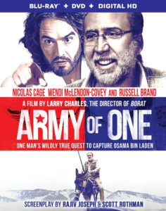 """Army of One"" with Russell Brand & Nicolas Cage Available on Blu-ray Combo Pack, DVD and On Demand November 15, 2016"