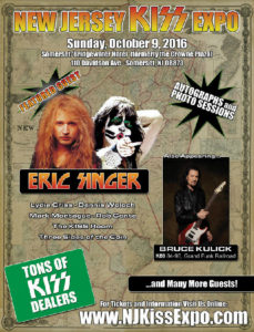 New Jersey Kiss Expo takes over Somerset, NY on Sunday, October 9th 2016