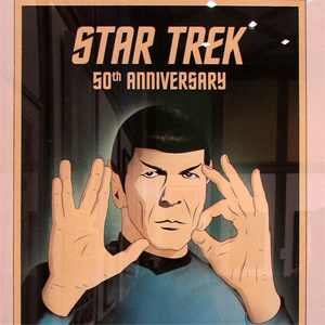 """Star Trek: 50 Artists. 50 Years"" Lands at New York's Paley Center"