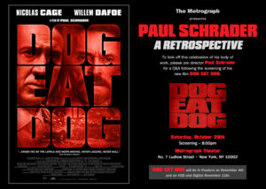 NYC Metrograph to Host Paul Schrader Retrospect