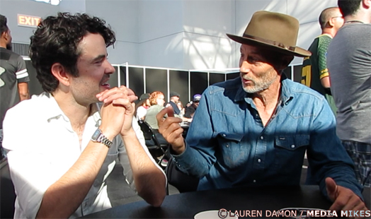 Nick Rutherford and Jon Gries