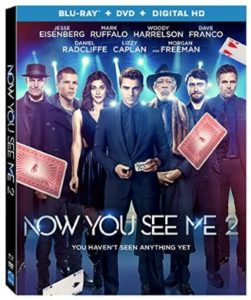 "Blu-ray Review ""Now You See Me 2"""