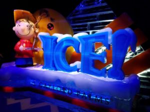 """Christmas at Gaylord Palms wins the holidays with ICE! featuring """"A Charlie Brown Christmas""""!"""