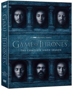 "DVD Review ""Game of Thrones: The Complete Sixth Season"""