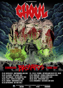 GHOUL: Creepsylvanian Masked Misfits To Devour The Dead Across The UK And Europe On Tour