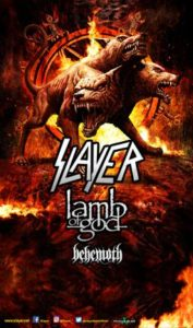 "Slayer, Lamb of God and Behemoth Announce ""Spreading the Apocalypse"" Tour"